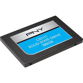 "120GB PNY CS1111 2.5"" (6.4cm) SATA 6Gb/s MLC (SSD7CS1111-120-RB)"