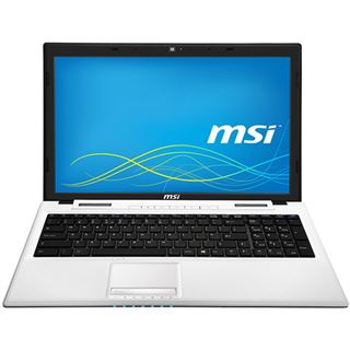 "Notebook 15.6"" (39,62cm) MSI CX61-2PCi545FDW i54200M/4GB/500GB/GF820M/weiss"
