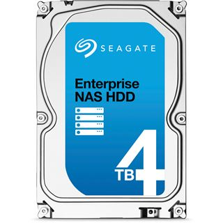 "4000GB Seagate Enterprise NAS HDD +Rescue ST4000VN0011 128MB 3.5"" (8.9cm) SATA 6Gb/s"