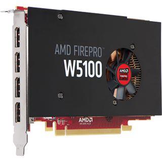 4GB Fujitsu FirePro W5100 PCIe 3.0 x16 (Retail)