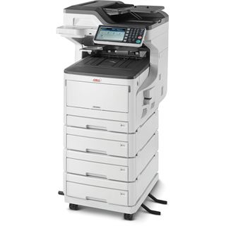 OKI MC853dnv Farblaser Drucken/Scannen/Kopieren/Faxen LAN/USB 2.0/2x RJ-11
