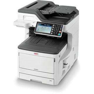 OKI MC853dn Farblaser Drucken / Scannen / Kopieren / Faxen LAN / USB