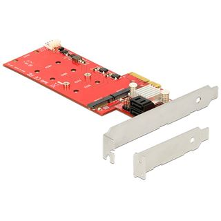 Delock 89379 4 Port PCIe 2.0 x4 Low Profile retail