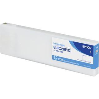 Epson SJIC26P(C) Tinte Cyan