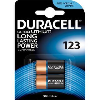 Duracell Batterien Photo 123 Ultra Photo 2er-Pack