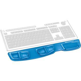 Fellowes Mauspad Health-V Crystal Tastatur Handgelenkauflage