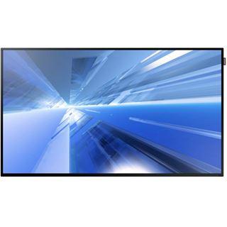 "48"" (121,92cm) Samsung Smart Signage DM48E schwarz 1920x1080 1xDP / 1xDVI / 2xHDMI 1.3 / 1xKomponenten (BNC) / 1xVGA"