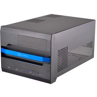 Silverstone Sugo SG12 Desktop ohne Netzteil schwarz