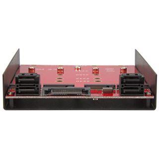 Startech Adapter für 4x M.2 zu SATA (35S24M2NGFF)