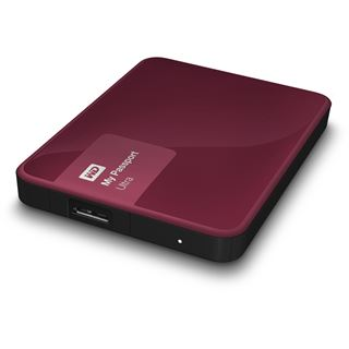 "1000GB WD My Passport Ultra WDBGPU0010BBY-EESN 2.5"" (6.4cm) USB 3.0 rot"