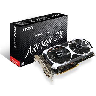 2GB MSI Radeon R9 380 Armor 2X Aktiv PCIe 3.0 x16 (Retail)