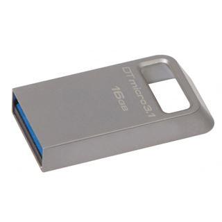 16 GB Kingston DataTraveler Micro 3.1 grau USB 3.0