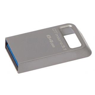 64 GB Kingston DataTraveler Micro Ultra-Compact grau USB 2.0