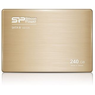 "240GB Silicon Power Slim S70 2.5"" (6.4cm) SATA 3Gb/s MLC Toggle (SP240GBSS3S70S25)"