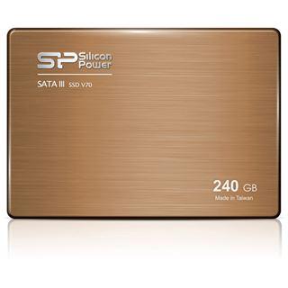 """240GB Silicon Power V70 2.5"""" (6.4cm) SATA 6Gb/s MLC Toggle"""