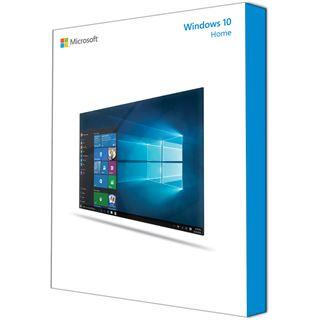 Microsoft Windows 10 Home 64 Bit Niederländisch DSP/SB