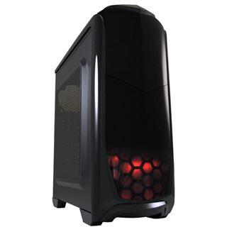 LC-Power Gaming 976B Dark Trooper mit Sichtfenster Midi Tower ohne Netzteil schwarz