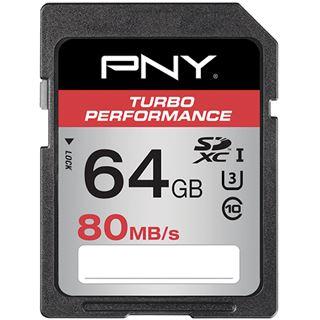 64 GB PNY Turbo Performance SDHC Class 10 U3 Retail