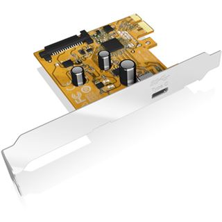ICY BOX IB-U31-01 1 Port PCIe 3.0 x1 inkl. Low Profile Slotblech /