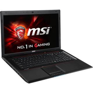 "Notebook 17.3"" (43,94cm) MSI GP70 2QF Leopard Pro-GP70-2QFi781BFD"