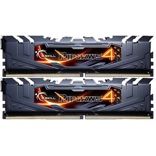 8GB G.Skill RipJaws 4 schwarz DDR4-3000 DIMM CL15 Dual Kit