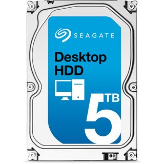 "5000GB Seagate Desktop HDD ST5000DM002 128MB 3.5"" (8.9cm) SATA 6Gb/"