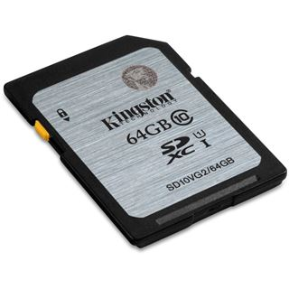 64 GB Kingston SD10VG2 SDXC Class 10 U1 Retail