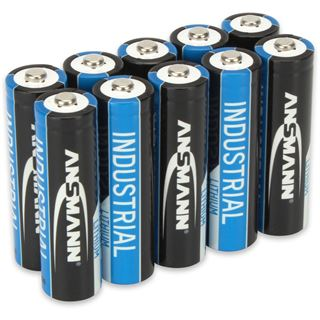 Ansmann Lithium-Industriebatterie Mignon AA 10er-Pack (1502-0005)