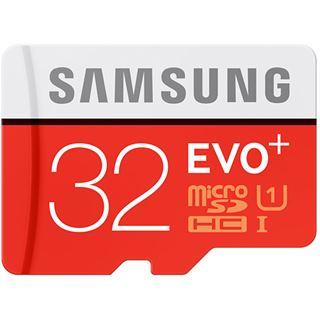 32 GB Samsung EVO Plus microSDHC Class 10 U1 Retail