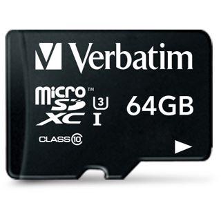 64 GB Verbatim 47042 microSDXC Class 10 Retail