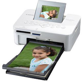 Canon Selphy CP1000 weiß Fotodrucker Drucken Cardreader / USB