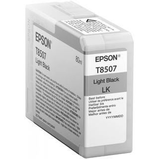 Epson C13T850700 Tinte light schwarz 80ml