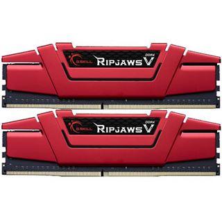 8GB G.Skill RipJaws V rot DDR4-2800 DIMM CL15 Dual Kit