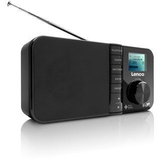Lenco PDR-03 DAB+ Radio mit LCD-Display