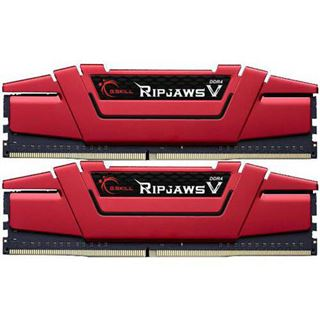 8GB G.Skill RipJaws V rot DDR4-2133 DIMM CL15 Dual Kit