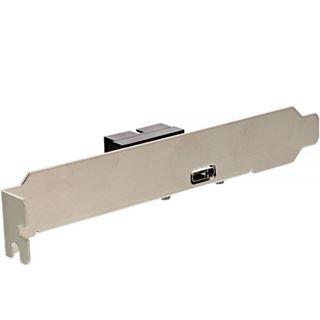 InLine Slotblech USB 3.1 1x USB Buchse Typ C auf intern