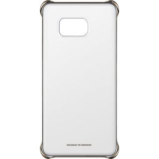 Samsung Clear Cover Galaxy S6 Edge Plus silber