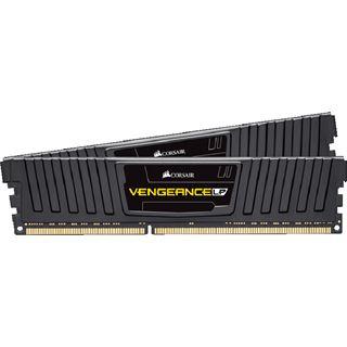 8GB Corsair Vengeance LP Series schwarz DDR3L-1600 DIMM CL9 Dual Kit