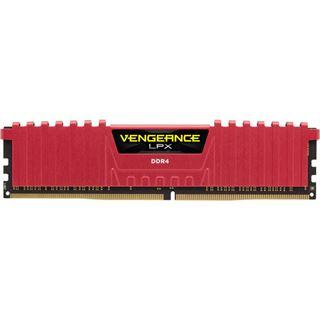 8GB Corsair Vengeance LPX rot DDR4-2133 DIMM CL13 Dual Kit