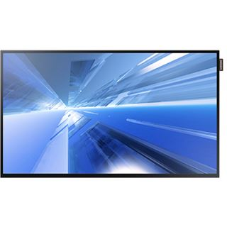 "32"" (81,28cm) Samsung Smart Signage DB32E schwarz 1920x1080 1xDVI / 1xHDMI 1.3 / 1xKomponenten (YUV) / 1xVGA"