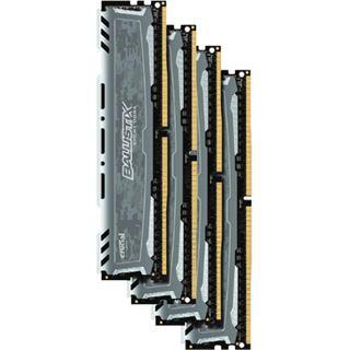 32GB Crucial Ballistix Sport LT Dual Rank grau DDR4-2400 DIMM CL16