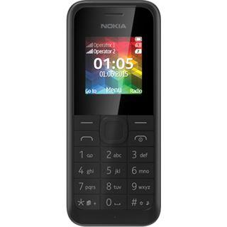 Nokia 105 Dual Sim schwarz