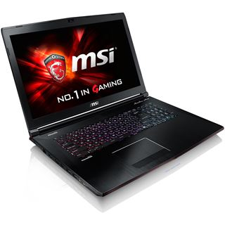 "Notebook 17.3"" (43,94cm) MSI GE72-2QDi716H11 Gaming Fulfillment Win10"