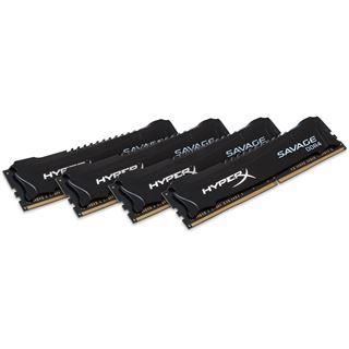 32GB Kingston HyperX Savage DDR4-3000 DIMM CL15 Quad Kit
