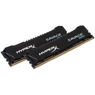 16GB HyperX Savage schwarz DDR4-2133 DIMM CL13 Dual Kit