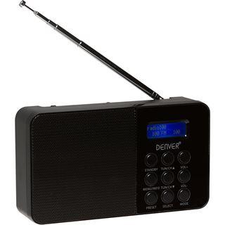 Denver DAB-33 Radio mit DAB+FM schwarz
