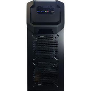 Inter-Tech Eterno K-five Demon Hunter Rev.2 Midi Tower ohne Netzteil