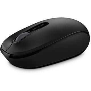 Microsoft Wireless Mobile Mouse 1850 USB schwarz (kabellos)