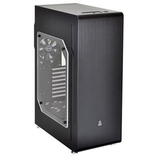 Lian Li TYR PC-X510WX gedämmt mit Sichtfenster Midi Tower ohne Netzteil schwarz