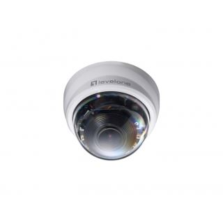 LevelOne FCS-4201 802.3af PoE IR LEDs 2 MP WDR 3xZoom